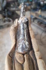 Sculpture-femme-girafe-Jimmix